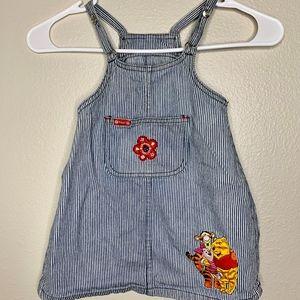 Pooh 100 Acre Collection Vintage Dress 2T
